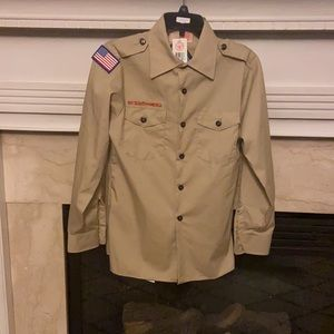 🎁 Boy Scouts of American shirt youth large